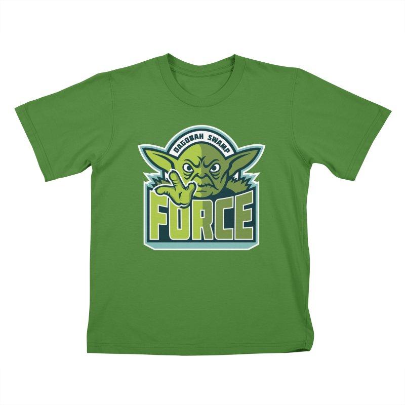 Dagobah Swamp Force Kids T-Shirt by WanderingBert Shirts and stuff