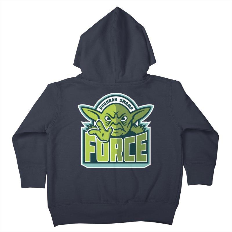 Dagobah Swamp Force Kids Toddler Zip-Up Hoody by WanderingBert Shirts and stuff