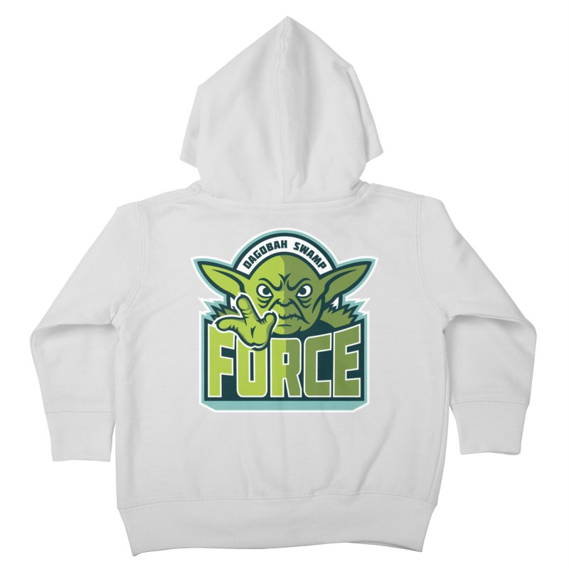 Dagobah Swamp Force Kids Toddler Zip-Up Hoody by WanderingBert Shirts and stuff