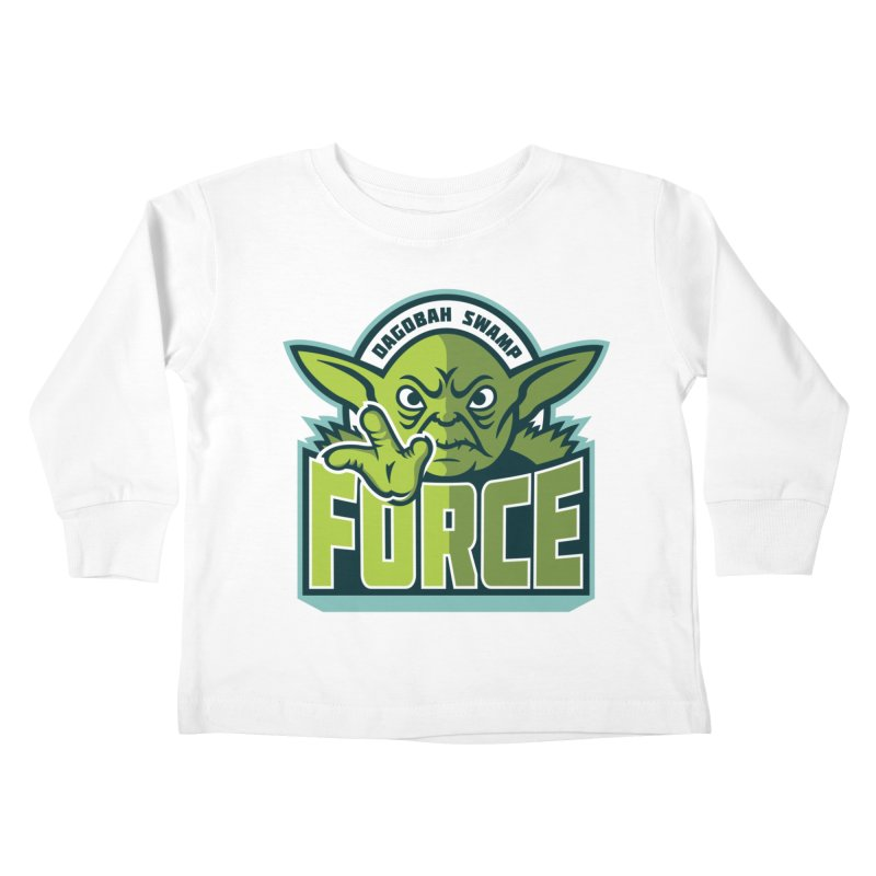 Dagobah Swamp Force Kids Toddler Longsleeve T-Shirt by WanderingBert Shirts and stuff