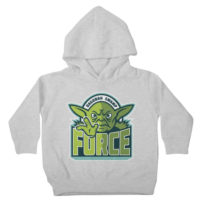 Dagobah Swamp Force Kids Toddler Pullover Hoody by WanderingBert Shirts and stuff