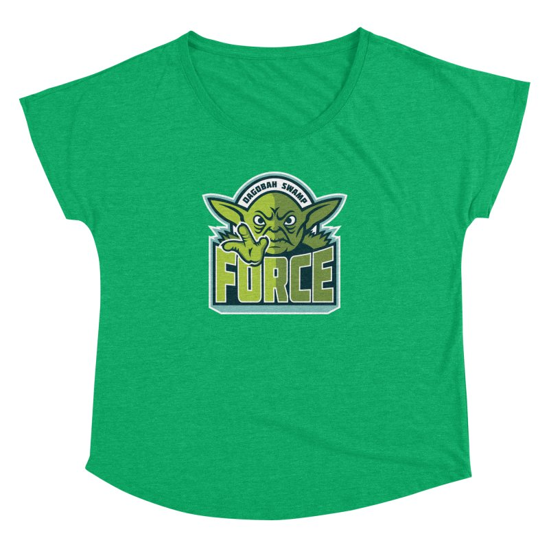 Dagobah Swamp Force Women's Dolman by WanderingBert Shirts and stuff