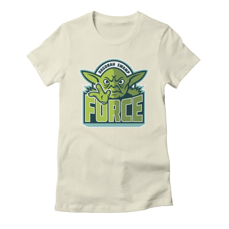 Dagobah Swamp Force Women's Fitted T-Shirt by WanderingBert Shirts and stuff