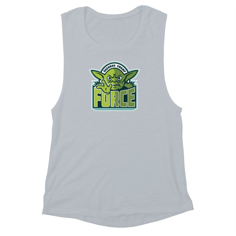 Dagobah Swamp Force Women's Muscle Tank by WanderingBert Shirts and stuff