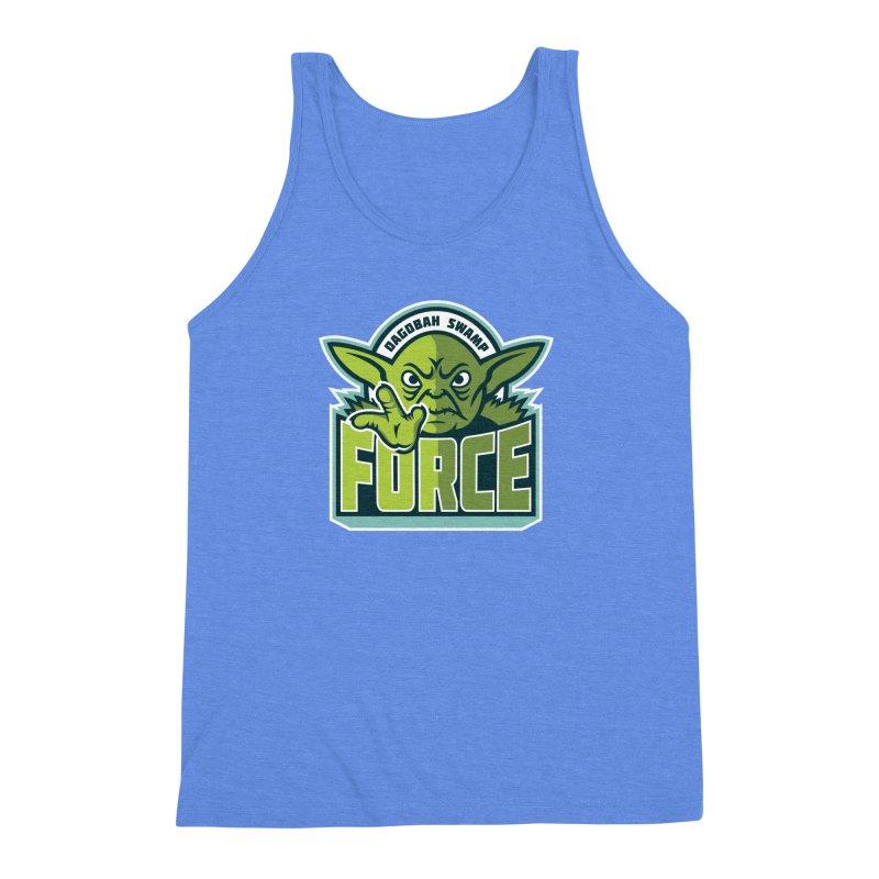 Dagobah Swamp Force Men's Triblend Tank by WanderingBert Shirts and stuff