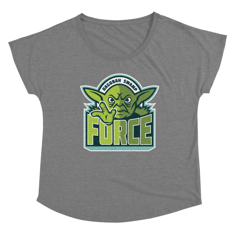 Dagobah Swamp Force Women's Scoop Neck by WanderingBert Shirts and stuff