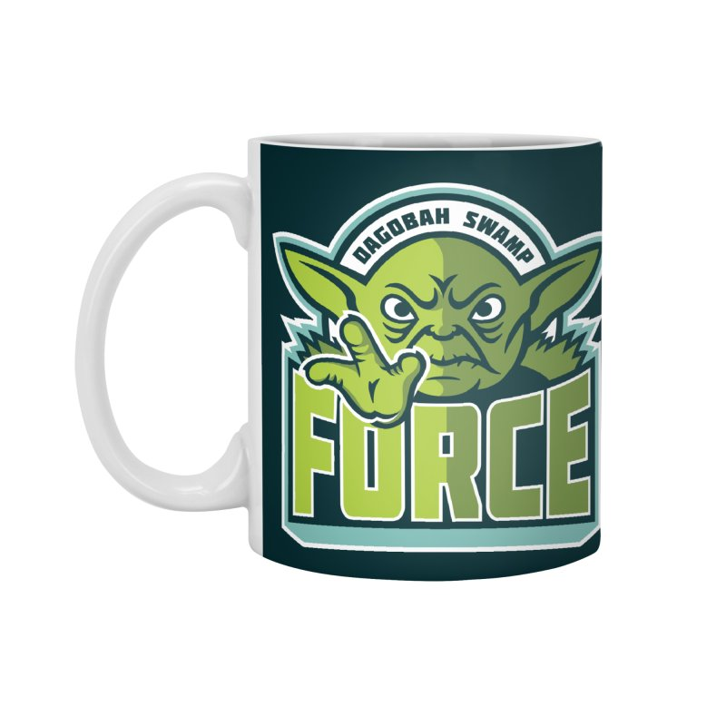 Dagobah Swamp Force Accessories Mug by WanderingBert Shirts and stuff