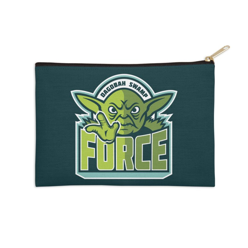 Dagobah Swamp Force Accessories Zip Pouch by WanderingBert Shirts and stuff