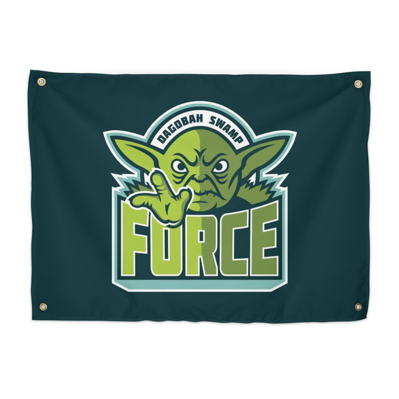Dagobah Swamp Force Home Tapestry by WanderingBert Shirts and stuff