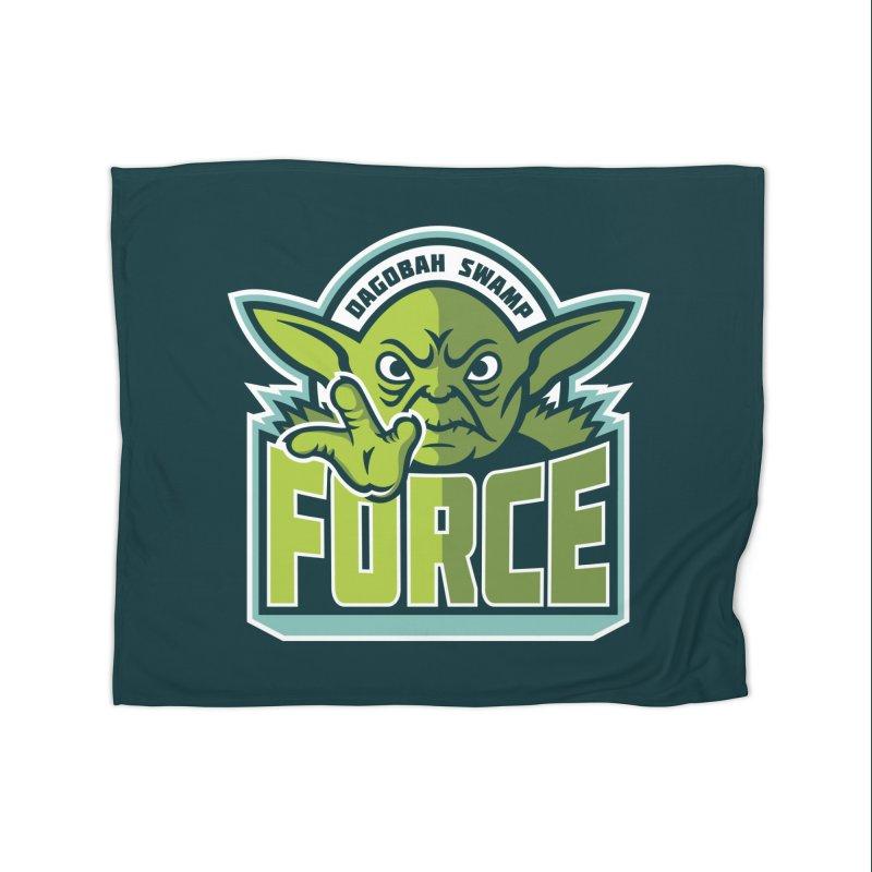 Dagobah Swamp Force Home Blanket by WanderingBert Shirts and stuff