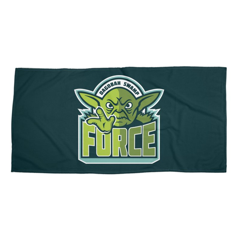 Dagobah Swamp Force Accessories Beach Towel by WanderingBert Shirts and stuff