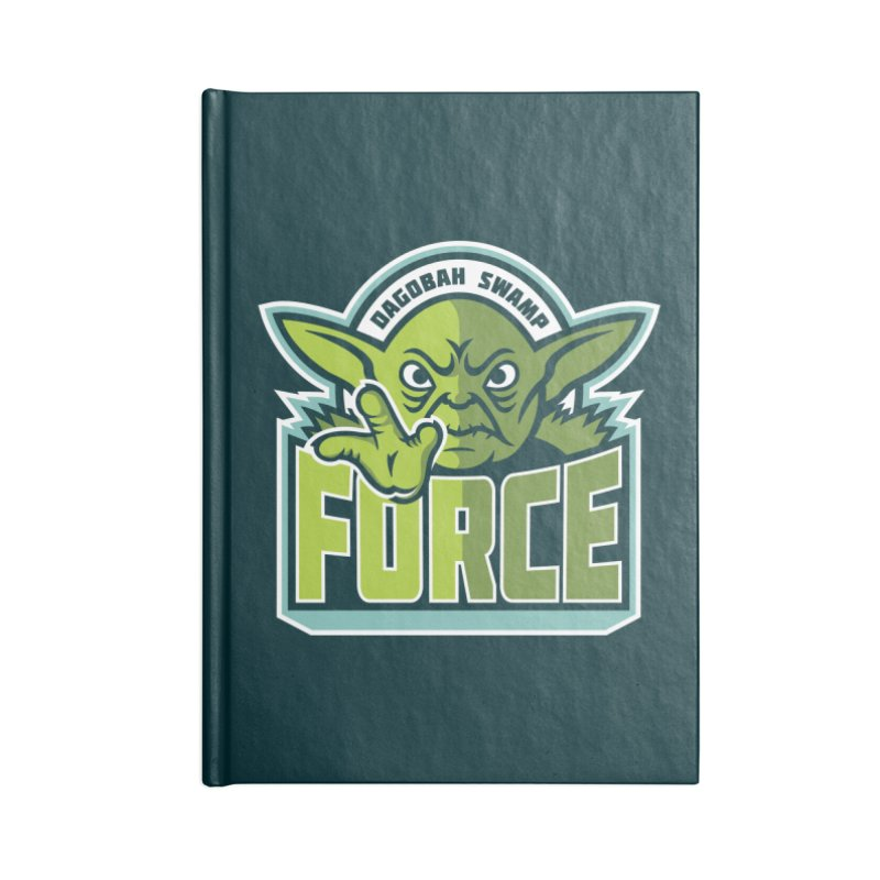 Dagobah Swamp Force Accessories Notebook by WanderingBert Shirts and stuff