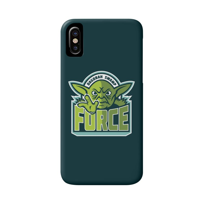 Dagobah Swamp Force Accessories Phone Case by WanderingBert Shirts and stuff