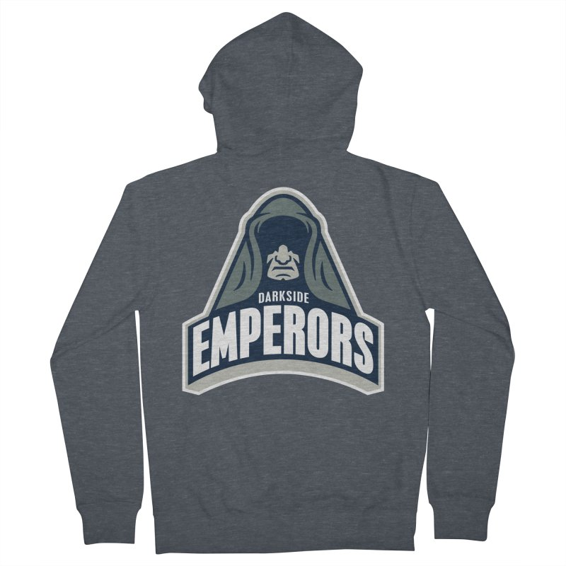 Darkside Emperors Men's Zip-Up Hoody by WanderingBert Shirts and stuff