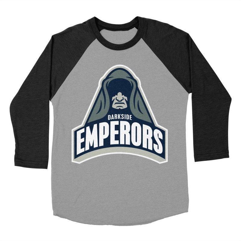 Darkside Emperors Men's Baseball Triblend T-Shirt by WanderingBert Shirts and stuff