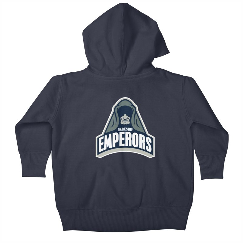 Darkside Emperors Kids Baby Zip-Up Hoody by WanderingBert Shirts and stuff