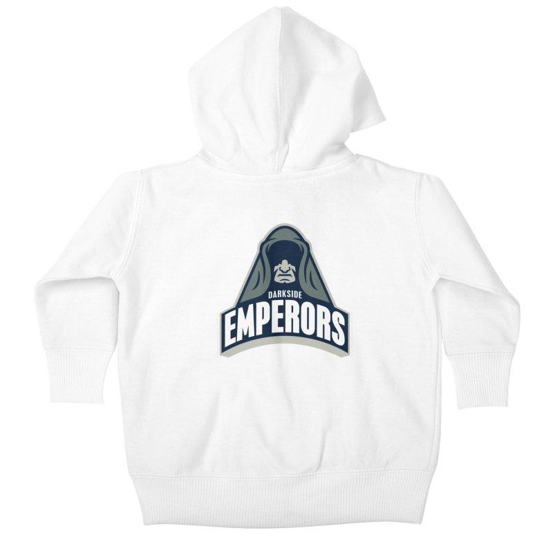 Darkside Emperors Kids Baby Zip-Up Hoody by WanderingBert Shirts and stuff