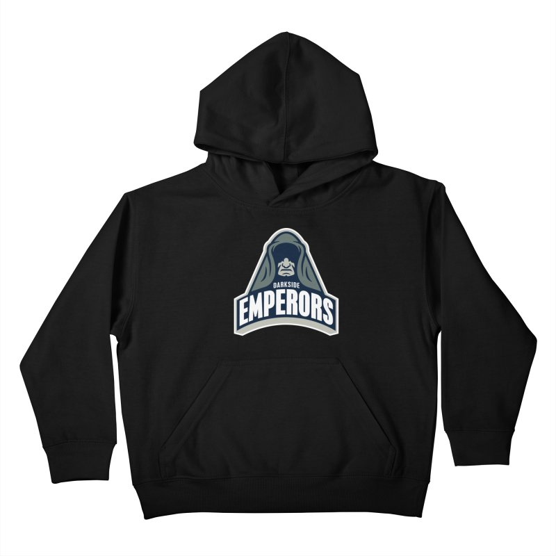 Darkside Emperors Kids Pullover Hoody by WanderingBert Shirts and stuff