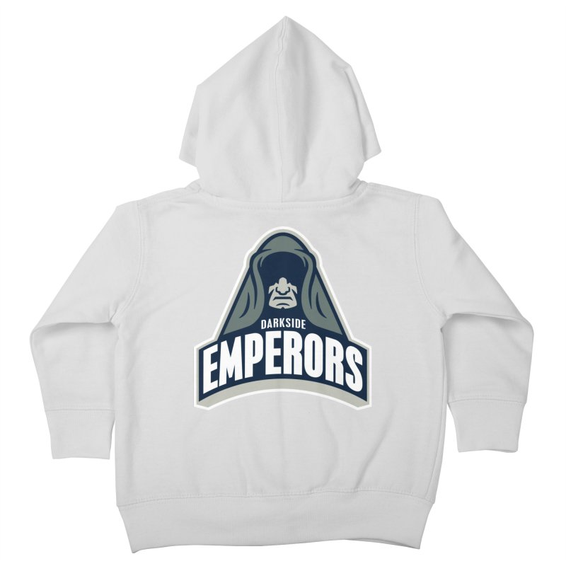 Darkside Emperors Kids Toddler Zip-Up Hoody by WanderingBert Shirts and stuff