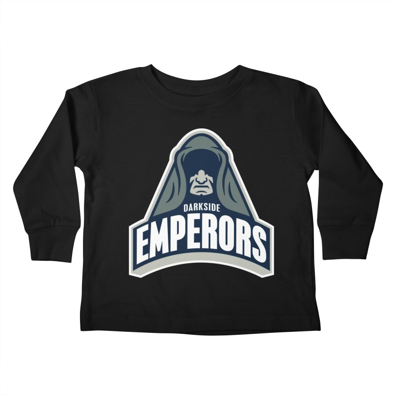 Darkside Emperors Kids Toddler Longsleeve T-Shirt by WanderingBert Shirts and stuff