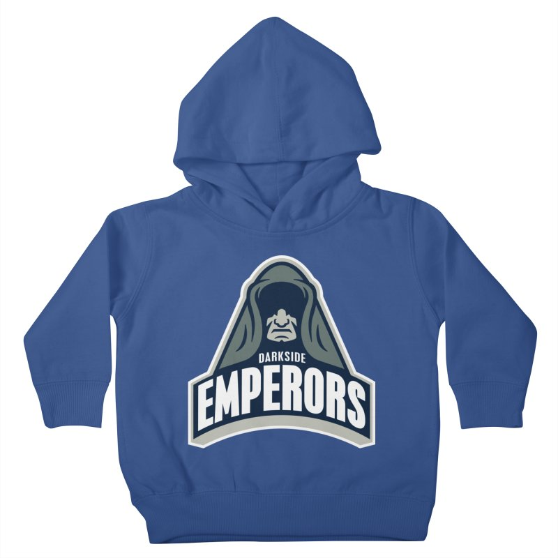 Darkside Emperors Kids Toddler Pullover Hoody by WanderingBert Shirts and stuff