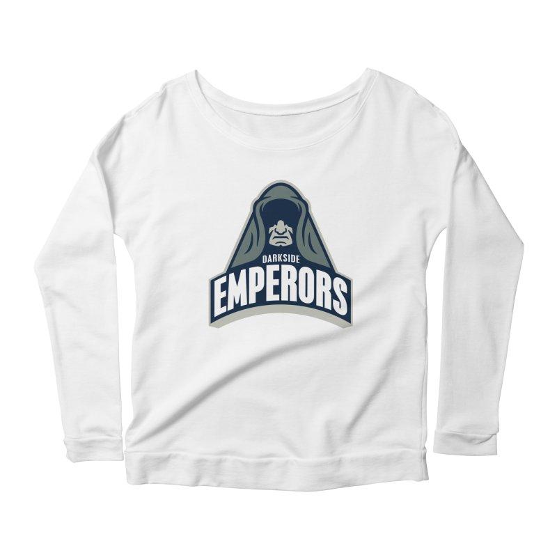 Darkside Emperors Women's Longsleeve Scoopneck  by WanderingBert Shirts and stuff