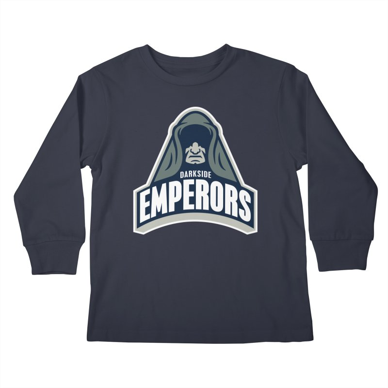 Darkside Emperors Kids Longsleeve T-Shirt by WanderingBert Shirts and stuff