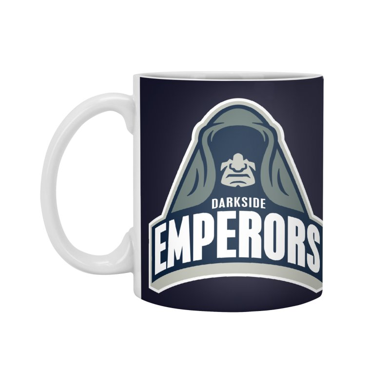 Darkside Emperors Accessories Mug by WanderingBert Shirts and stuff