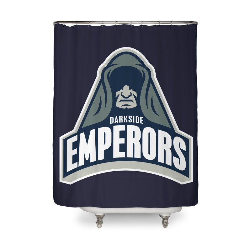 Darkside Emperors Home Shower Curtain by WanderingBert Shirts and stuff