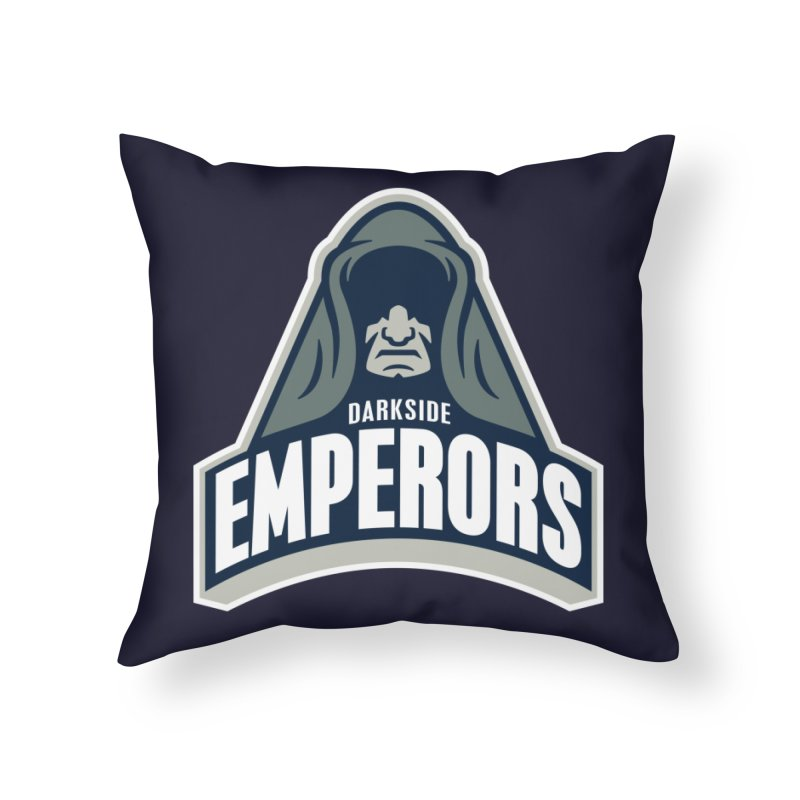 Darkside Emperors Home Throw Pillow by WanderingBert Shirts and stuff