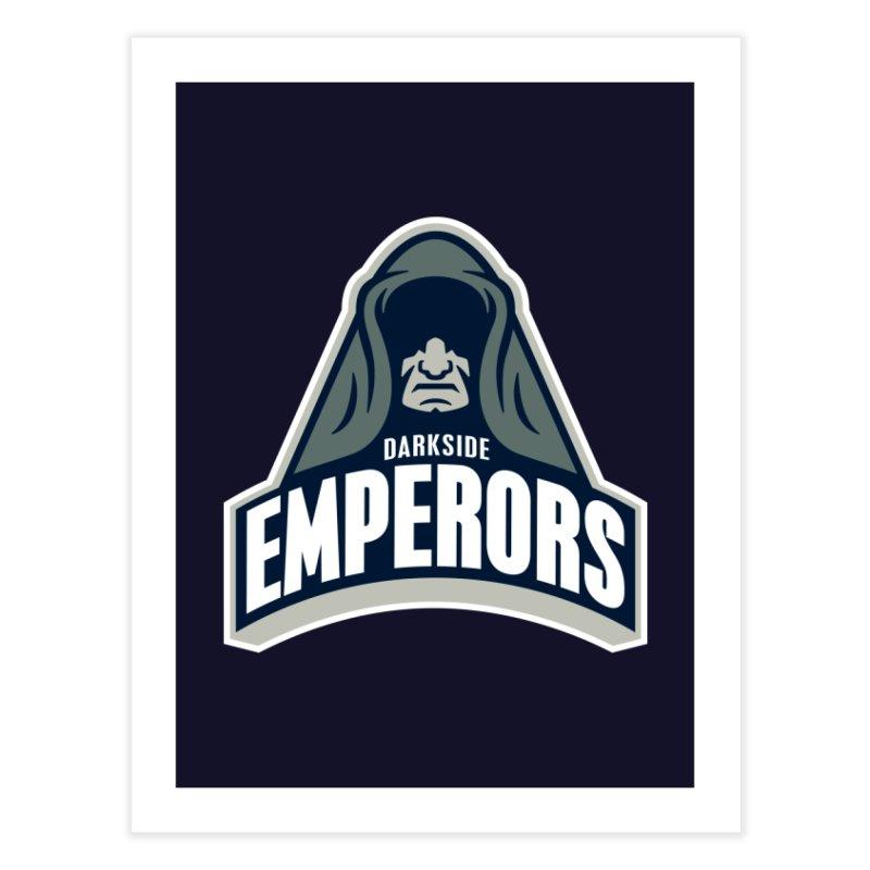 Darkside Emperors Home Fine Art Print by WanderingBert Shirts and stuff