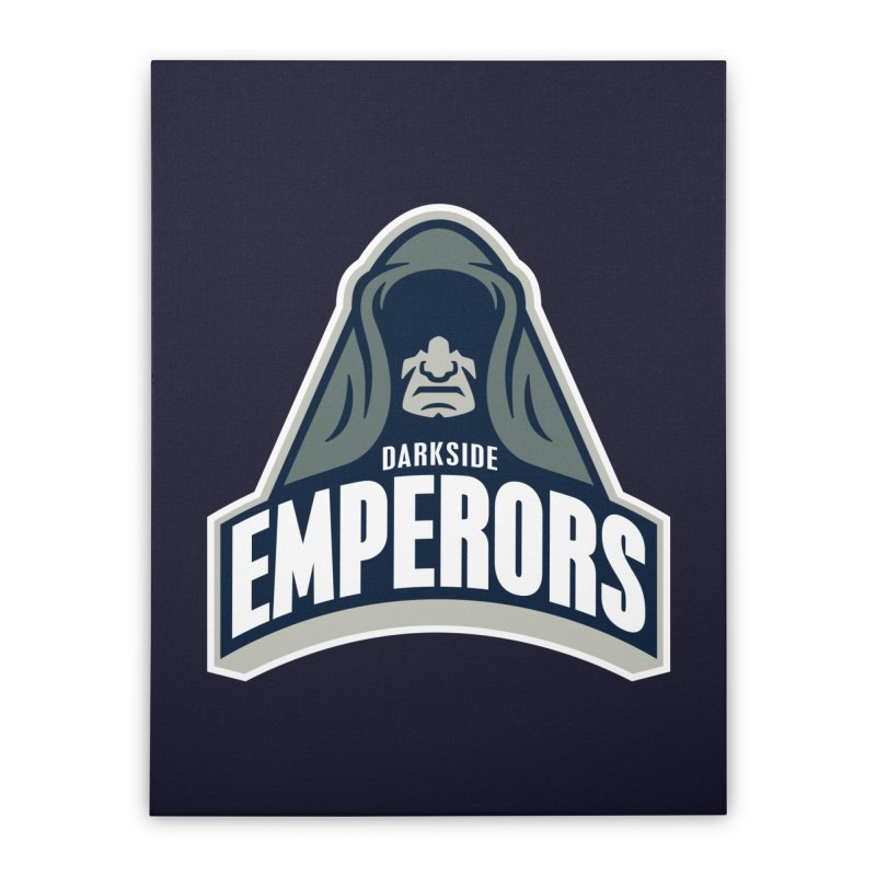 Darkside Emperors Home Stretched Canvas by WanderingBert Shirts and stuff