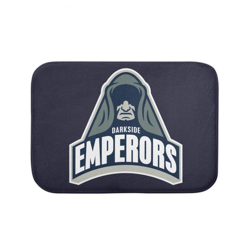 Darkside Emperors Home Bath Mat by WanderingBert Shirts and stuff