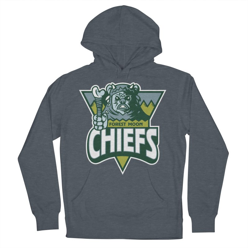 Forest Moon Chiefs Men's Pullover Hoody by WanderingBert Shirts and stuff