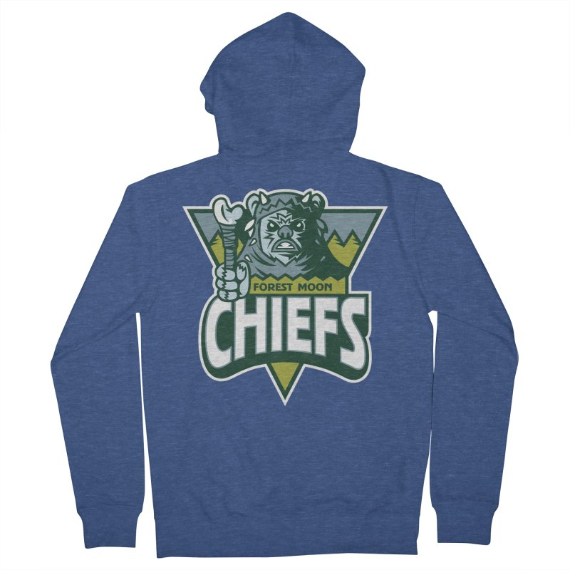 Forest Moon Chiefs Men's Zip-Up Hoody by WanderingBert Shirts and stuff