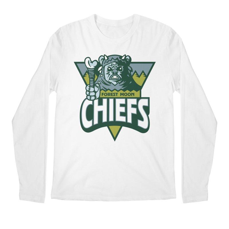 Forest Moon Chiefs Men's Longsleeve T-Shirt by WanderingBert Shirts and stuff