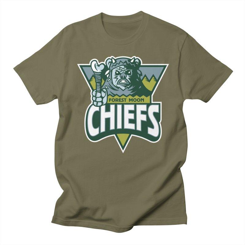 Forest Moon Chiefs Men's T-Shirt by WanderingBert Shirts and stuff