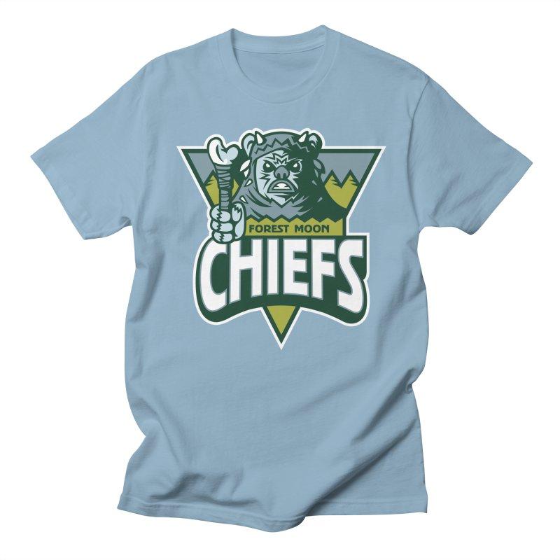 Forest Moon Chiefs Women's Unisex T-Shirt by WanderingBert Shirts and stuff