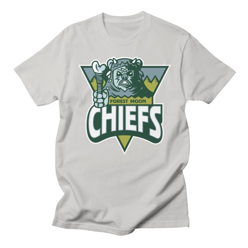 Forest Moon Chiefs Men's T-Shirt by WanderingBert Shirts and stuff