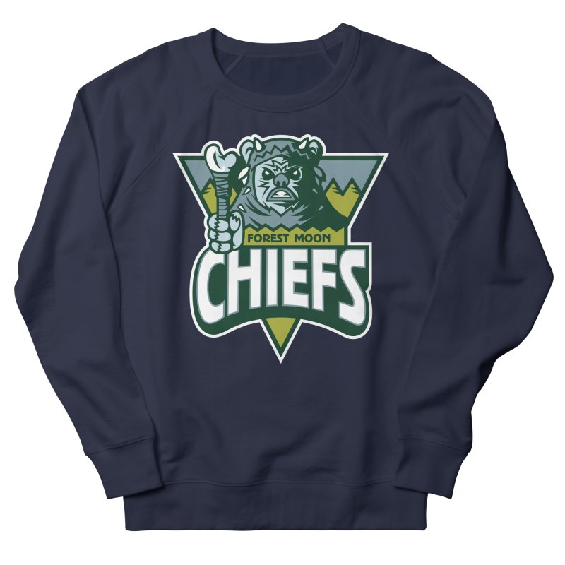 Forest Moon Chiefs Women's Sweatshirt by WanderingBert Shirts and stuff