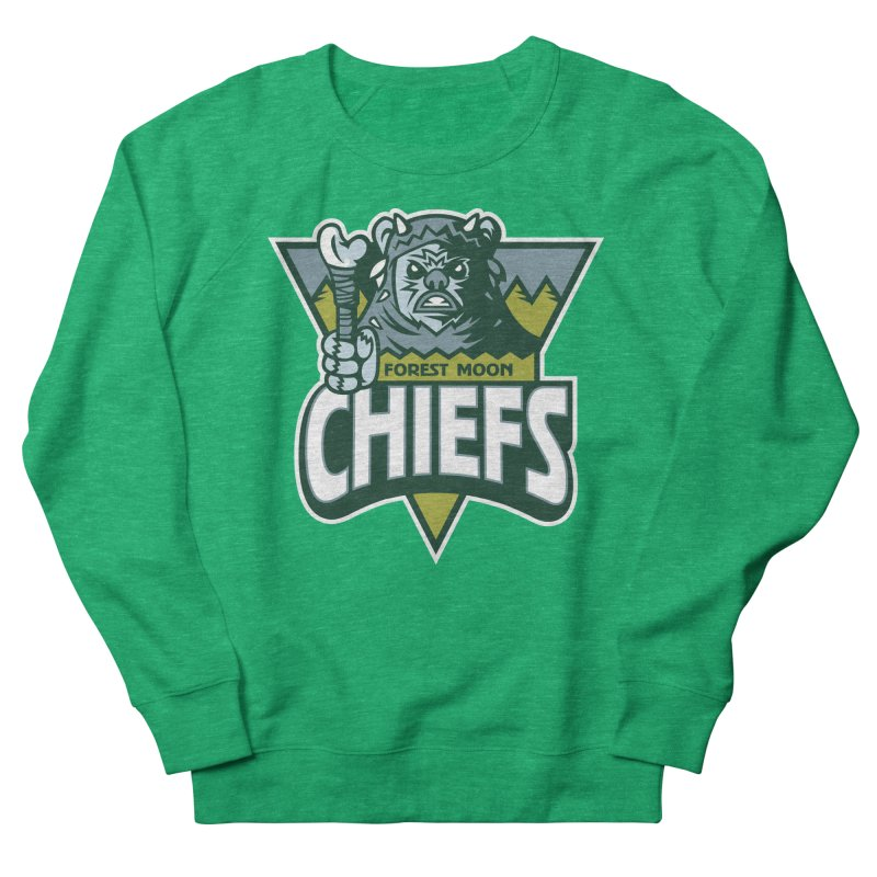 Forest Moon Chiefs Men's Sweatshirt by WanderingBert Shirts and stuff