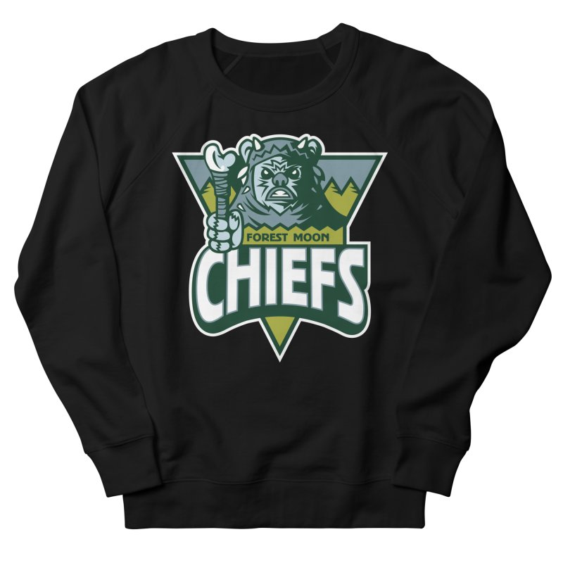 Forest Moon Chiefs Men's Sweatshirt by WanderingBert Shirts and stuff