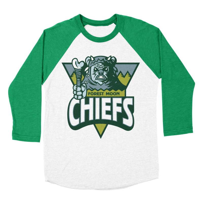 Forest Moon Chiefs Women's Baseball Triblend T-Shirt by WanderingBert Shirts and stuff