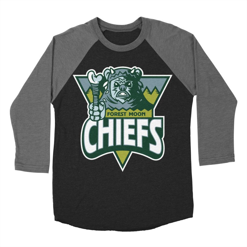 Forest Moon Chiefs Men's Baseball Triblend T-Shirt by WanderingBert Shirts and stuff