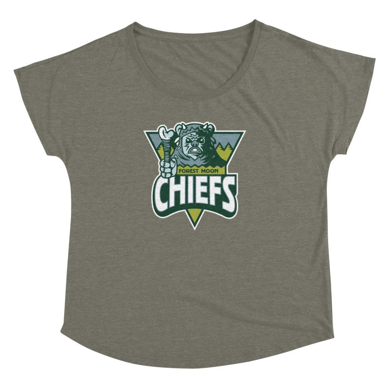 Forest Moon Chiefs Women's Dolman by WanderingBert Shirts and stuff