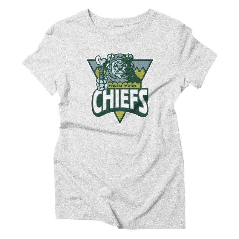 Forest Moon Chiefs Women's T-Shirt by WanderingBert Shirts and stuff