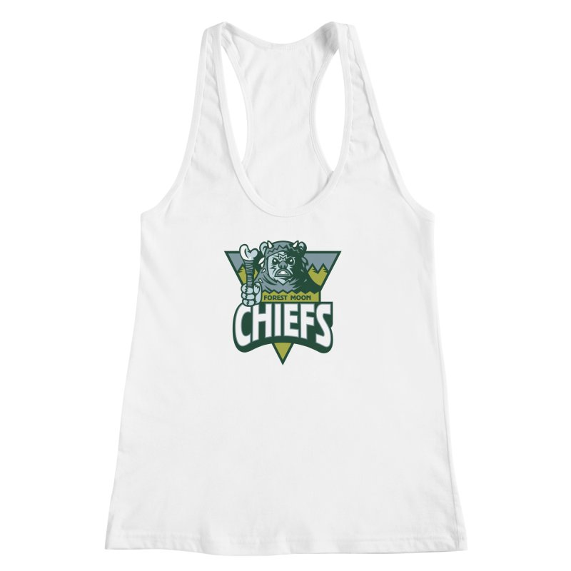 Forest Moon Chiefs Women's Racerback Tank by WanderingBert Shirts and stuff