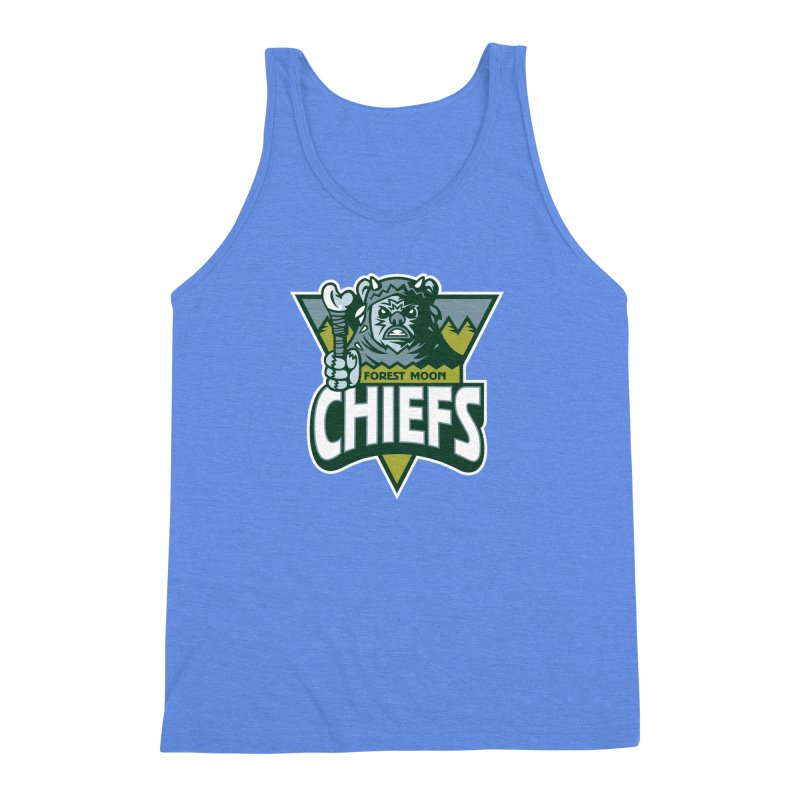 Forest Moon Chiefs Men's Triblend Tank by WanderingBert Shirts and stuff