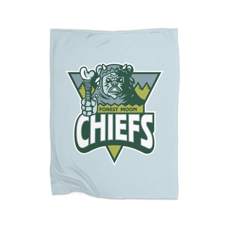 Forest Moon Chiefs Home Blanket by WanderingBert Shirts and stuff