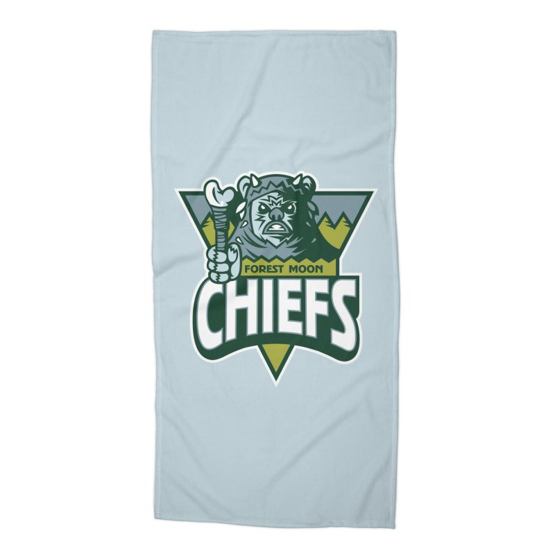 Forest Moon Chiefs Accessories Beach Towel by WanderingBert Shirts and stuff
